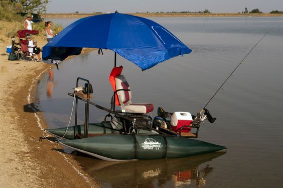 Pinterest the world s catalog of ideas for Inflatable pontoon fishing boat