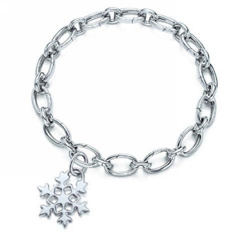 Snowflake Charm Bracelet: Tiffany Snowflake Charm Bracelet