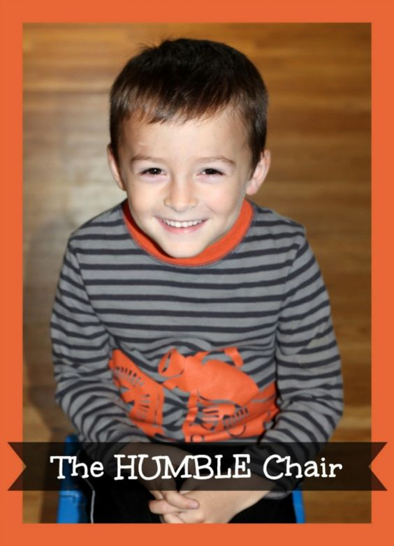 The Humble Chair ~ Building Kid's Self-Esteem (she: Veronica)