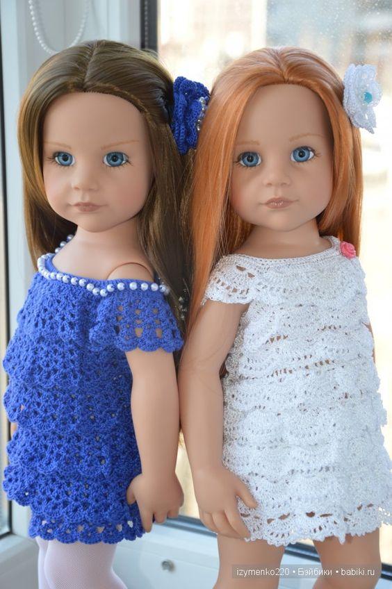 """Мои необыкновенные девчонки """"АХ"""" и """"УХ"""":) / Куклы Gotz - коллекционные и игровые Готц / Бэйбики. Куклы фото. Одежда для кукол"""