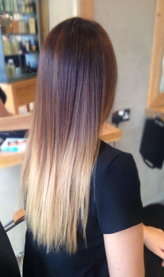 Ombre Hair Is Still One Of The Hottest Trends From Blonde Ombre Style To Black Silver Or Even Ash Tones Althoug Hair Highlights Ombre Hair Color Blonde Tips
