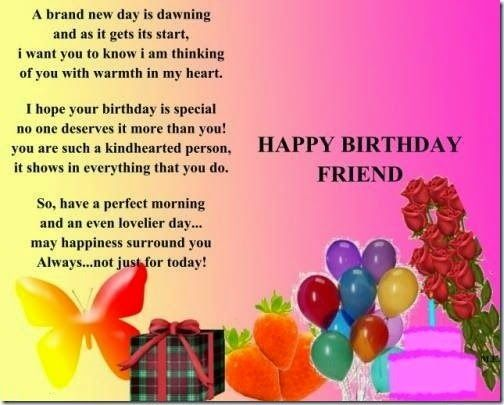 Birthday Wish For Best Friend Happy Birthday Wishes Quotes