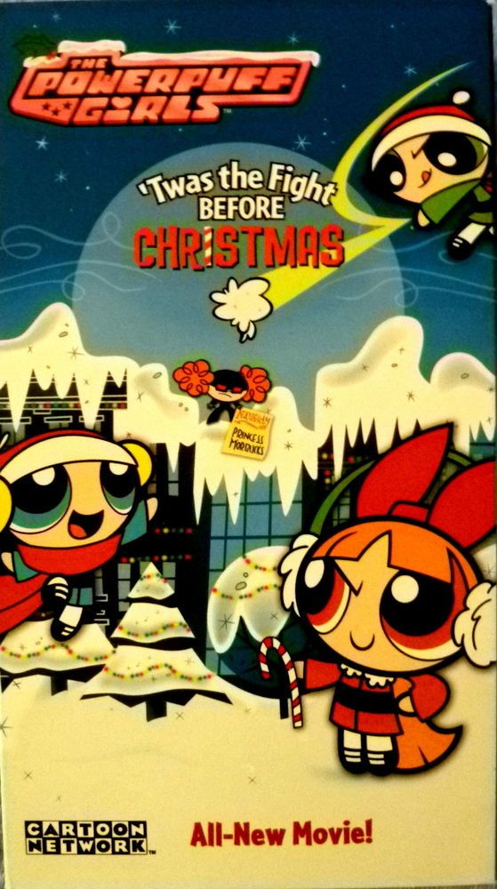 THE POWERPUFF GIRLS 'TWAS THE NIGHT BEFORE CHRISTMAS RARE VHS ...