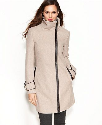Wool Blend Winter Coat