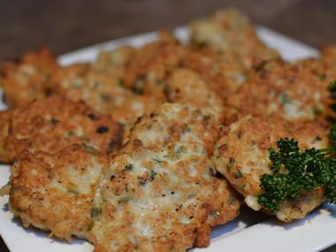This recipe reminds me of Ukrainian Tenderized chicken we usually would deep into milk than seasoned flour and fry it. I like this version better because they are loaded with parsley and flavor is on