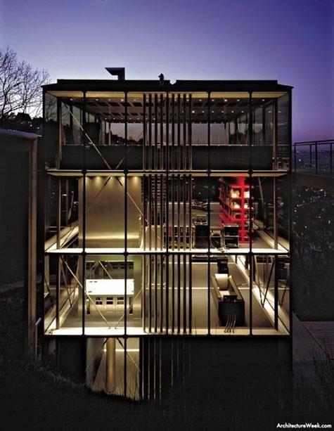 house r128 by werner sobek architecture i like pinterest haus and house. Black Bedroom Furniture Sets. Home Design Ideas