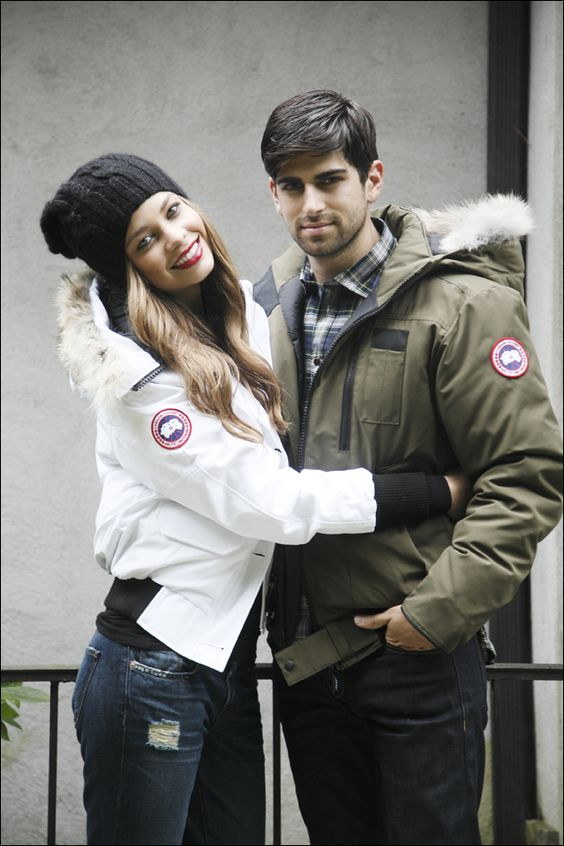 cheap canada goose chilliwack parka for men in red