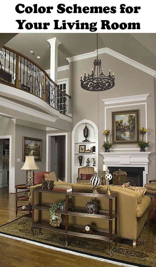 6 Quick And Simple Decorating Ideas For Your Living Room Fun Home Design Vaulted Ceiling Living Room Transitional Living Room Design Family Room Colors