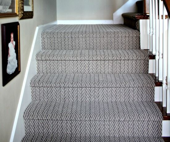 Great Photographs Herringbone Carpet Stairs Popular One Of Many Fastest Ways To Revamp Your Tired Old Staircase In 2021 Living Room Carpet Room Carpet Stairway Carpet