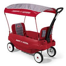A just got this for her b-day and LOVES it!!  Big enough for Belle to ride with her too. -   Radio Flyer 5- in-1 Family Wagon