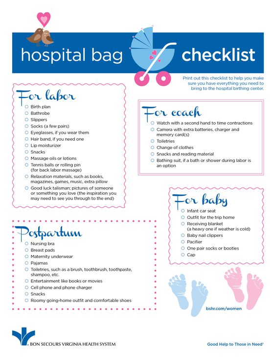 Hospital Bag Checklist For New Moms  The Best Items To Have With