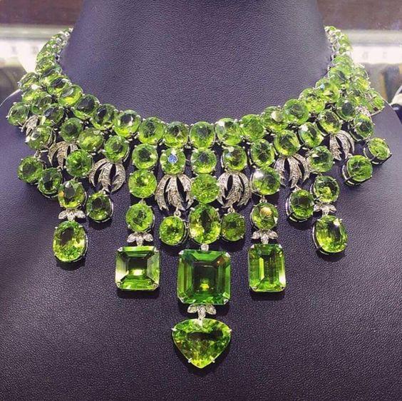 Beautiful Peridot Necklace. I'm speechless!