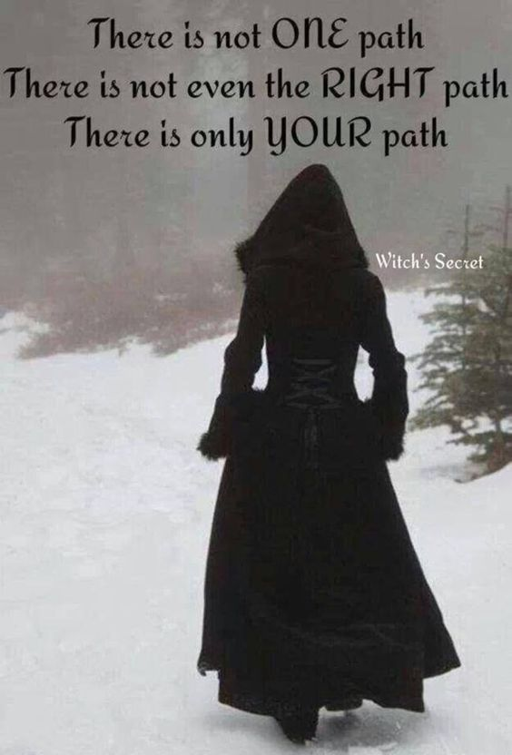 There is no wrong or right path just yours: