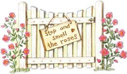 Free Clip Art Garden Gate | Garden Gate. Artwork by Gooseberry Patch. | Clip Art...My Style ...