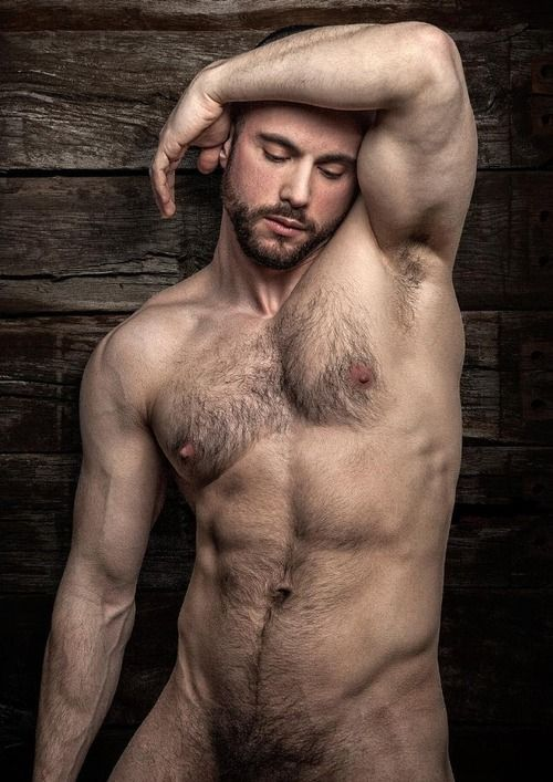 Hot hairy gay men