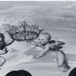 Die Madonna mit dem Kinde und vier weiblichen Heiligen um 1512 - 1514 Lucas Cranach der Ältere und Werkstatt CRANACH DIGITAL ARCHIVE