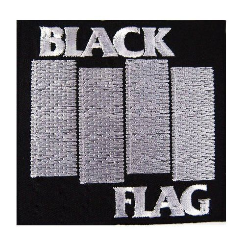 Black Flag Patch The Metal Music Stop Black Flag Punk Patches Black Flag Band