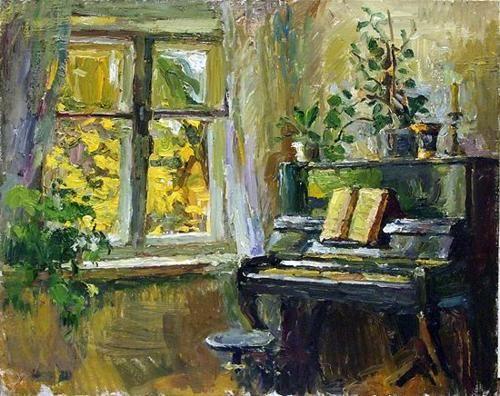 Art painting Russian art byIvan Zolotuhin