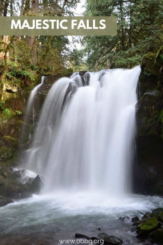 Majestic Falls and Waterfall Wednesday in Oregon