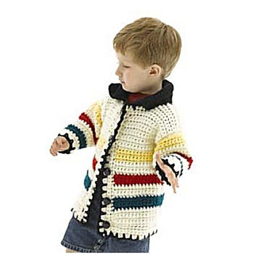 Free Crochet Pattern Ravelry Hudson Bay Jacket Pattern