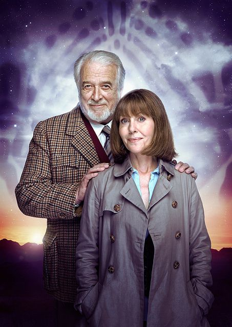 Sarah Jane Smith and the Brigadier. No feels, no love stories, or any of that drivel... just who you call when the world (or the universe) needs saving.