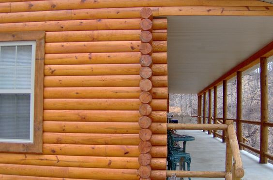 Log cabin siding cabin ideas pinterest log cabin E log siding