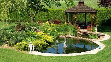 installer un bassin dans son jardin comment sons and spas. Black Bedroom Furniture Sets. Home Design Ideas
