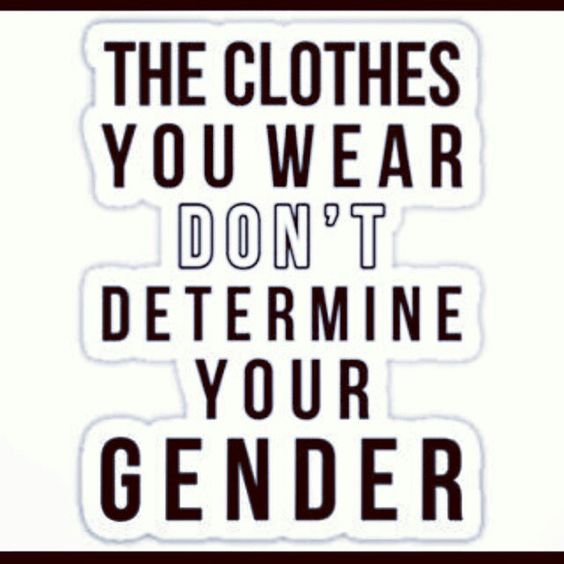 Gender is a social construct society attributes meaningless society attributes meaningless things like clothing with gender transgender sciox Image collections