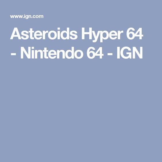 Asteroids Hyper 64 - Nintendo 64 - IGN