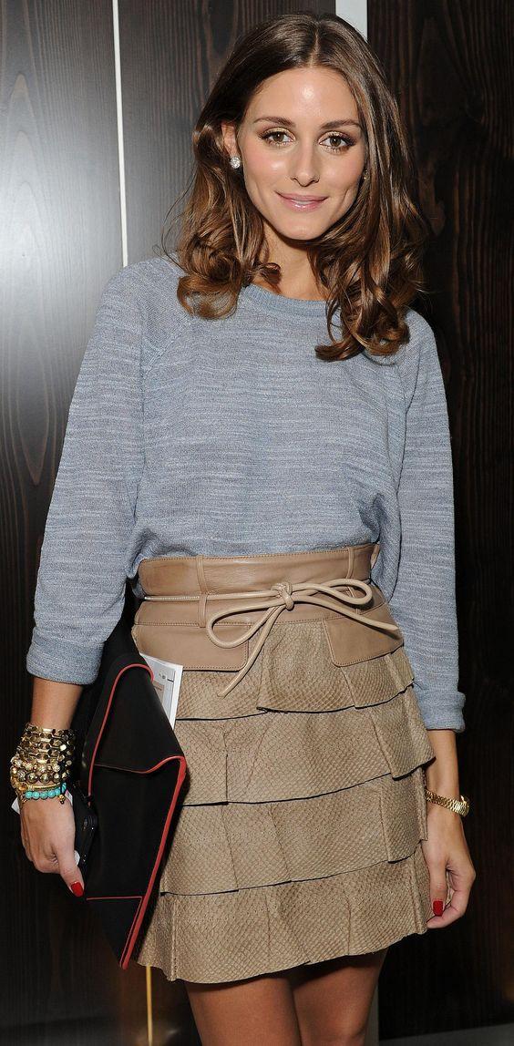 Olivia Palermo Queria meu cabelo assim, só falta criar coragem