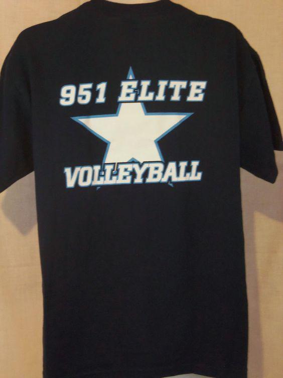 951 Elite Volleyball T Shirt Men S Sport Blue Size L Cotton Blend Graphic Gildan Graphictee Mens Tshirts Mens Shirts Long Sleeve Tshirt Men