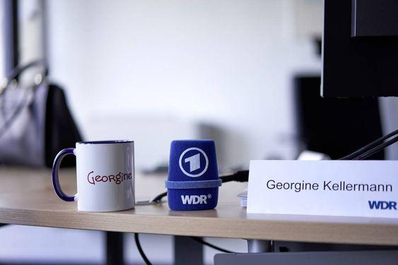 Despacho de la periodista que actualmente ejerce de jefa territorial de la WDR con sede en Essen y tiene a 120 personas a su cargo. MICHAEL ENGLERT (FOCUS / CONTACTO)