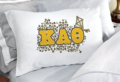 Kappa Alpha Theta Sorority Pillowcases