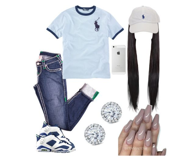 """""""#155:There's no competition"""" by tyyanniharris ❤ liked on Polyvore featuring Mode, Retrò, Ralph Lauren und Kobelli"""