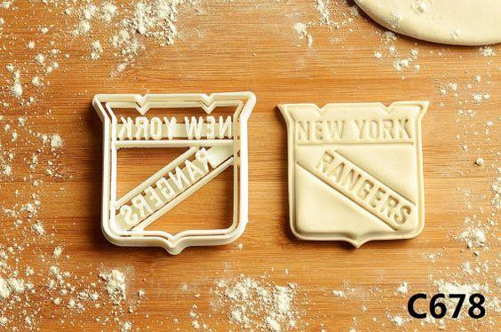 New York Rangers Cookie Cutter  new york by CBACookieCutter