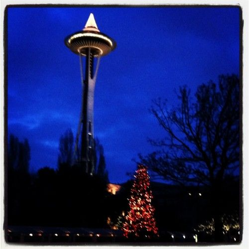 Christmas Tree Space Needle