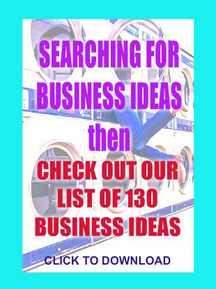 Do you need more inspiration for a home business start? Then click here to download a whole heap of suggestions and ideas.