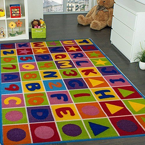 Mybecca Kids Rug Numbers And Letters Area Rug Childrens Area Rugs Kids Rugs Playroom Rug