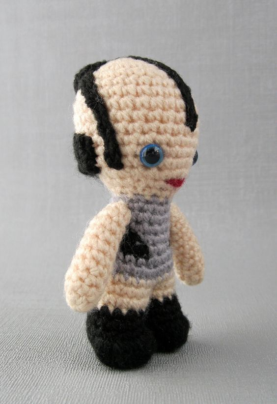 New!! Leesub Sirln #amigurumi ... oh, and this blog has operated for 11 days w/o a Star Wars-related post. #starwars