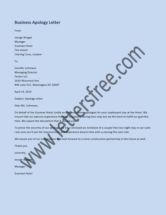 7 best Sample Apology Letters images on Pinterest Letter, Ecards - humble apology letter