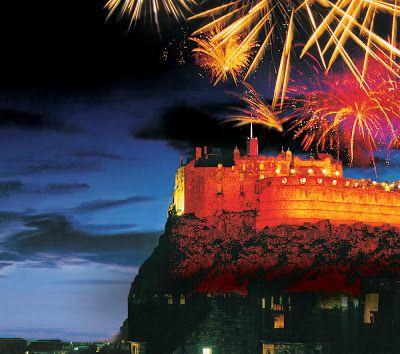 Escocia Festejo año nuevo