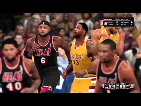 NBA 2K16 Challenges #4 - LeBron vs LeBron - YouTube