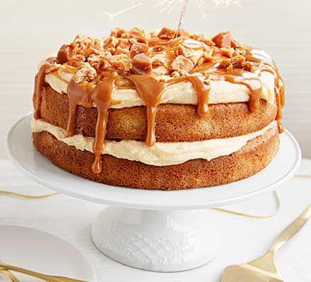 Easy Caramel Cake Recipe Caramel Cake Recipe Cake Recipes Bbc Good Food Recipes