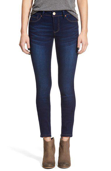 1822 Denim 1822 Denim 'Butter' Skinny Jeans available at #Nordstrom