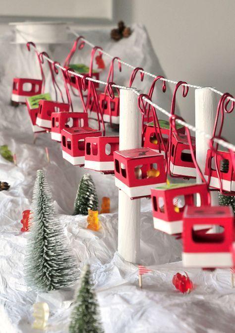 miss red fox - Seilbahn Wertmarken Adventskalender - Funicular Advent Calendar - Gondel - Nacelle
