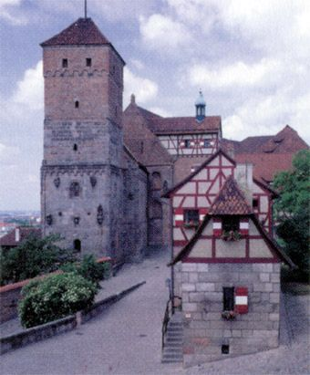 Palácio Comunal Nuremberg.  Alemanha