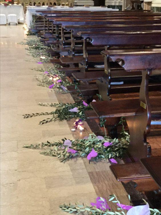 E se non sono fiori i rami di ulivo sono ancora più romantici.