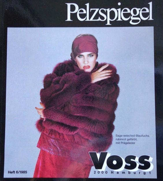 """alte PELZ-FACHZEITSCHRIFT """"Pelzspiegel"""" 1985/6 Zobel,Chinchilla, Luchs, Nerz eiJ31S4.jpg 1,128×1,251 pixels"""