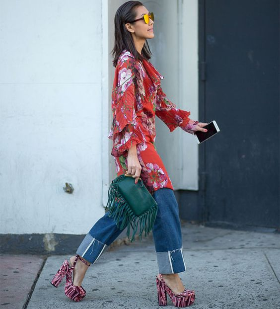 stree-style-look-plataforma-calca-com-vestido-por-cima: