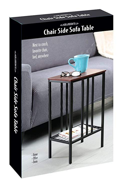 Amazon Com Gramercy Living Room Decorative Metal And Wood End